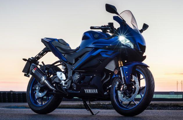 Yamaha R3 2019 trang bi them goi phu kien chinh hang voi gia ban de xuat tu 4999 USD