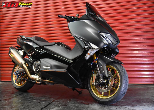 Yamaha Tmax530 do full option day chat choi voi dien mao hoan hao - 3