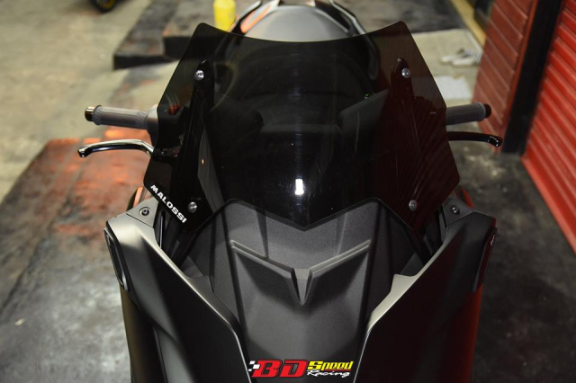 Yamaha Tmax530 do full option day chat choi voi dien mao hoan hao - 5