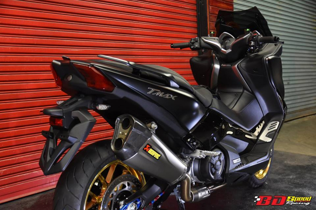 Yamaha Tmax530 do full option day chat choi voi dien mao hoan hao - 21
