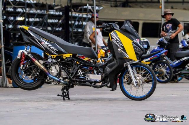 Yamaha XMax300 do chong mat voi he banh cam Dragbike - 6
