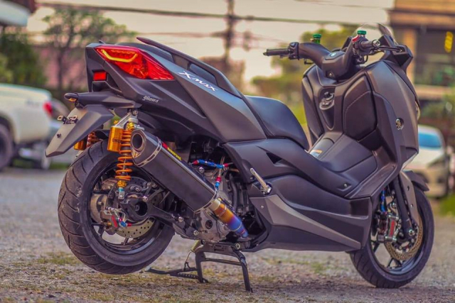 Yamaha XMax300 do gay can voi he thong phanh Brembo Billet cao cap