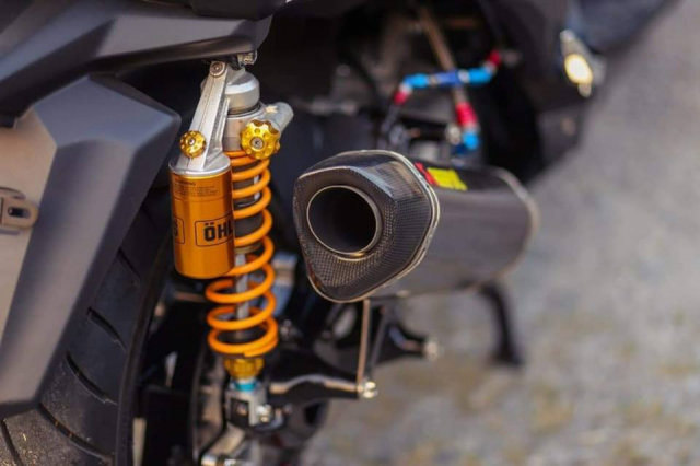 Yamaha XMax300 do gay can voi he thong phanh Brembo Billet cao cap - 6