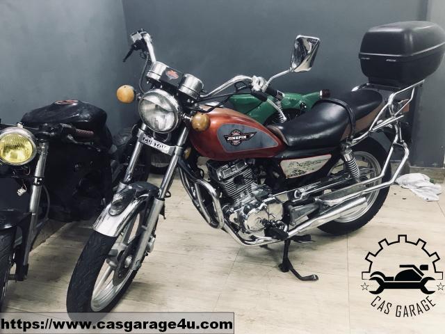 Cubtom 125cc may dung 2 bo CAS Garage