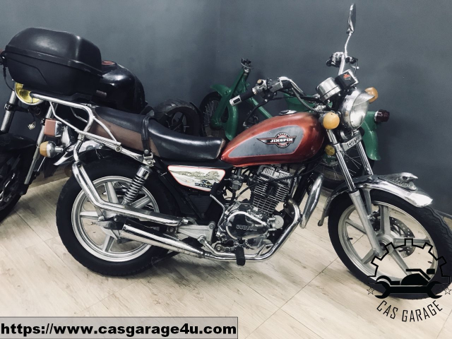 Cubtom 125cc may dung 2 bo CAS Garage - 2