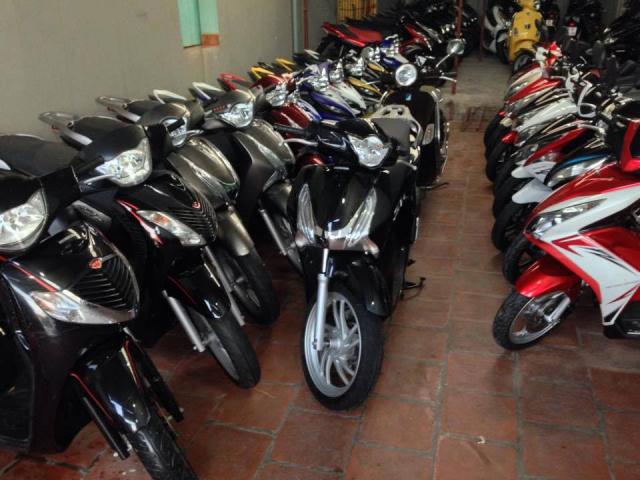BAN XE MAY NHAP KHAU GIA RE HONDA SH Yamaha Exciter Suzuki Suxipo Satria LH0776227152 - 3