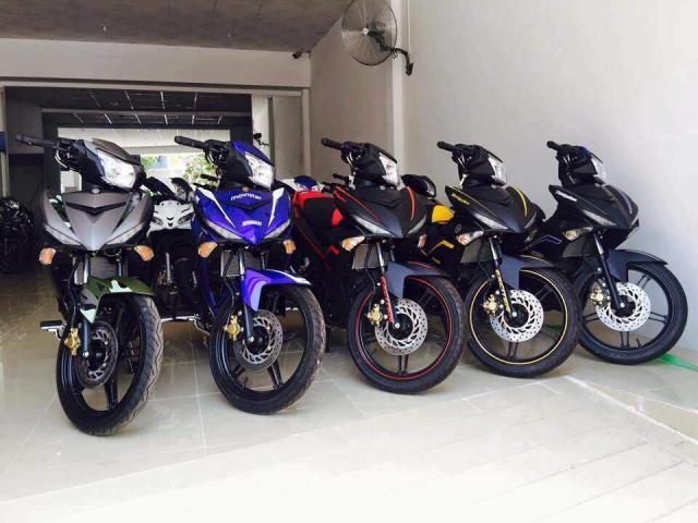 BAN XE MAY NHAP KHAU GIA RE HONDA SH Yamaha Exciter Suzuki Suxipo Satria LH0776227152 - 4
