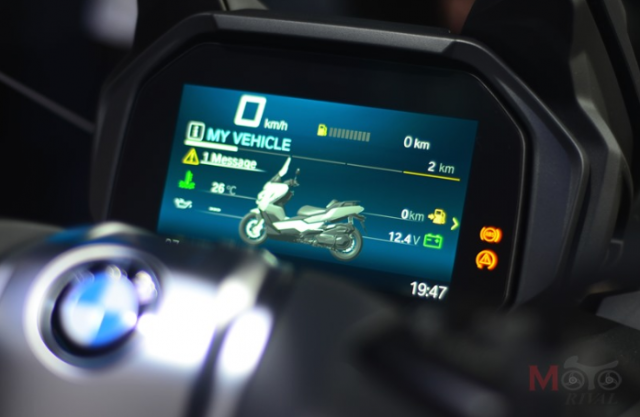 BMW C400 GT 2019 vua duoc gioi thieu co gia tu 295 trieu VND - 8