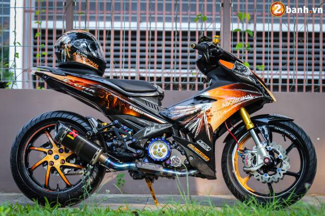 Can canh Exciter 150 do phong cach Tu Truong cua dan choi Sai Gon - 18
