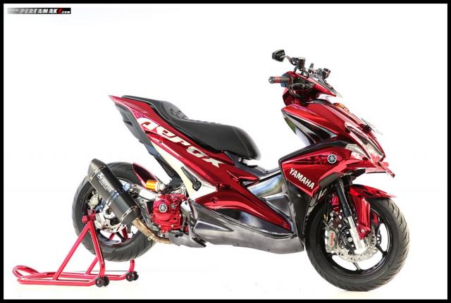 Chiem nguong Nmax Aerox 155 do tai cuoc thi Yamaha Custo Maxi - 12