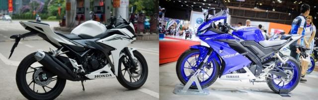 CLIP So sanh Maxspeed bang GPS giua R15 V3 CBR150R do biker thuc hien - 4