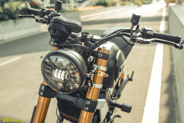Ducati Scrambler 1100 Sport do Ve dep thanh lich day ap cong nghe tren duong pho Viet