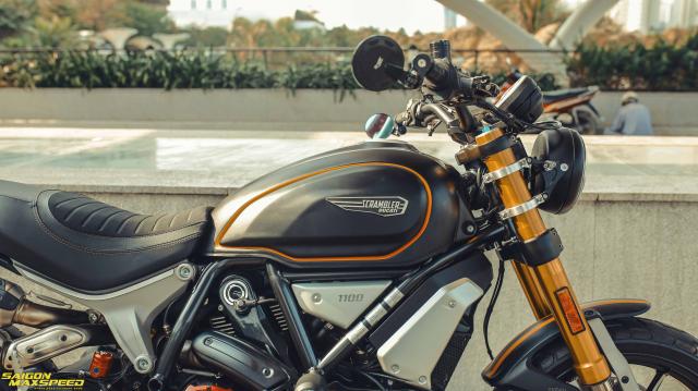 Ducati Scrambler 1100 Sport do Ve dep thanh lich day ap cong nghe tren duong pho Viet - 16