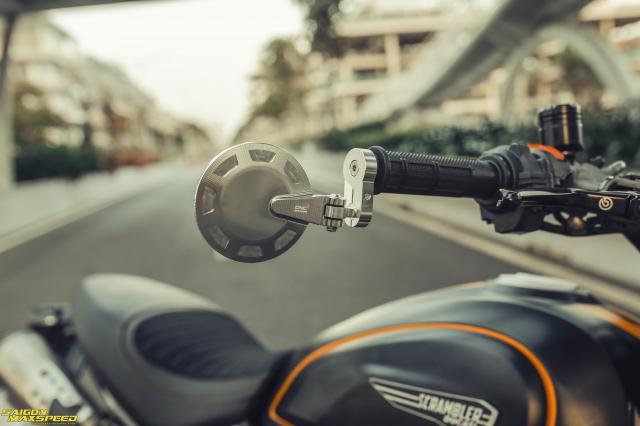 Ducati Scrambler 1100 Sport do Ve dep thanh lich day ap cong nghe tren duong pho Viet - 17