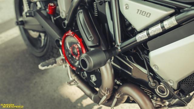 Ducati Scrambler 1100 Sport do Ve dep thanh lich day ap cong nghe tren duong pho Viet - 28