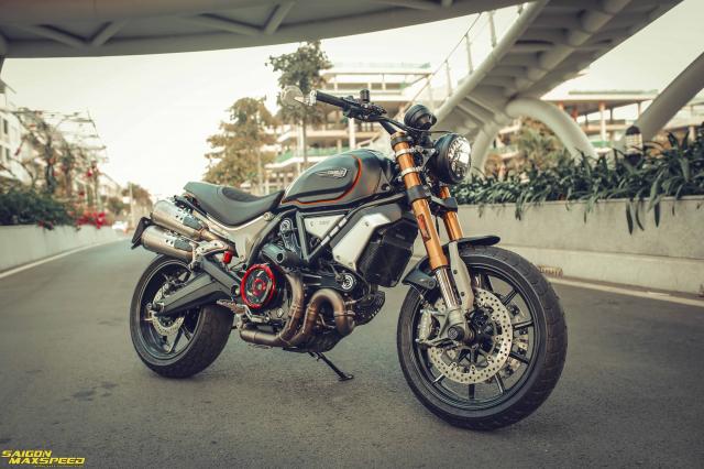 Ducati Scrambler 1100 Sport do Ve dep thanh lich day ap cong nghe tren duong pho Viet - 32