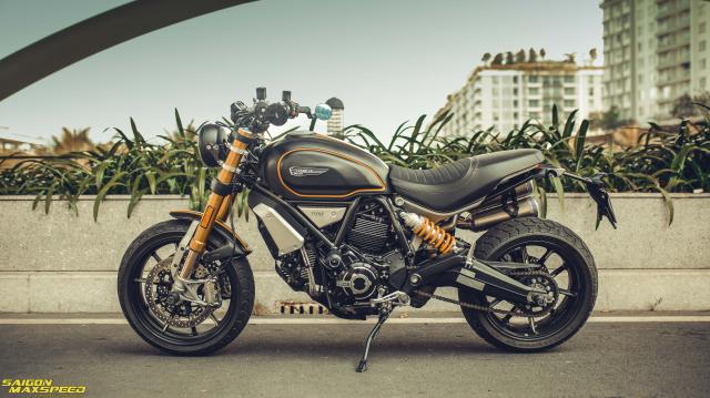 Ducati Scrambler 1100 Sport do Ve dep thanh lich day ap cong nghe tren duong pho Viet - 34