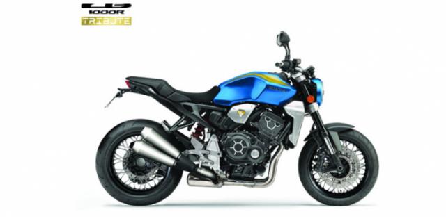 Honda CB1000R Tribute ra mat ki niem 50 nam cua Huyen thoai CB750