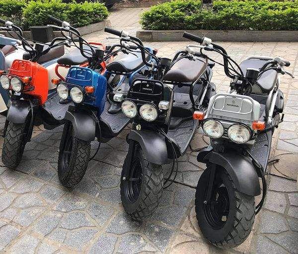 Honda Zoomer 50cc Phong cach noi loan pha vo moi quy chuan ve kieu dang cua dong xe 50cc