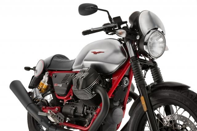 Moto Guzzi V7 III Racer chuan bi ra mat thi truong Bac My co gia tu 231 trieu VND