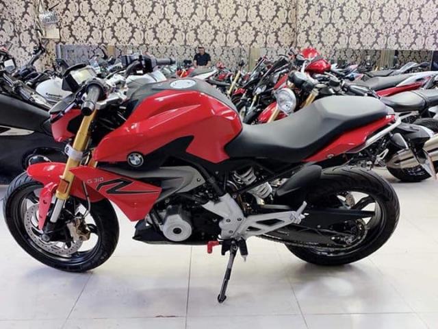 Can ban BMW G310R do 112018 odo 327km xe 1 chu mua dap thung luon