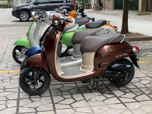 Neu dang dinh tau xe dung bo qua mau Scooter ca tinh Honda Giorno 50cc - 2