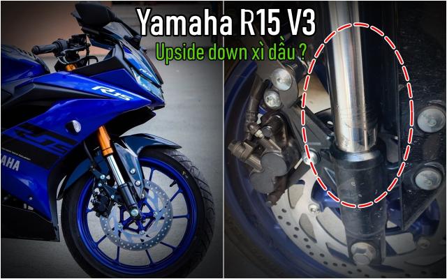 Phuoc Upside Down Yamaha R15 V3 bi xi dau nguyen nhan cach khac phuc