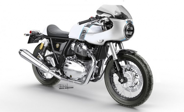 Royal Enfield Continental GT 650 Cafe Racer Edition Concept chinh thuc xuat hien