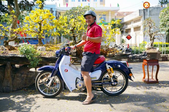 Super Cub do option do choi hon 200 trieu dong cua biker Long Khanh - 13