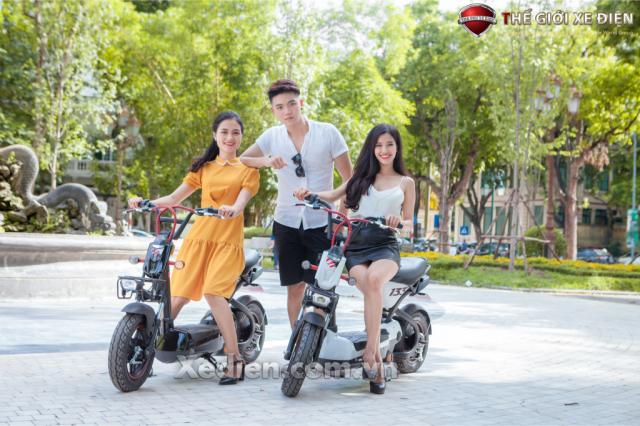 Xe dien Giant hang thuong hieu Dai Loan