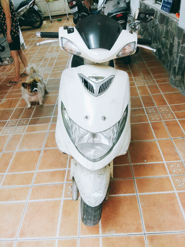 Xe tay ga Suzuki Sapphire 125cc may nhat zin chay dam