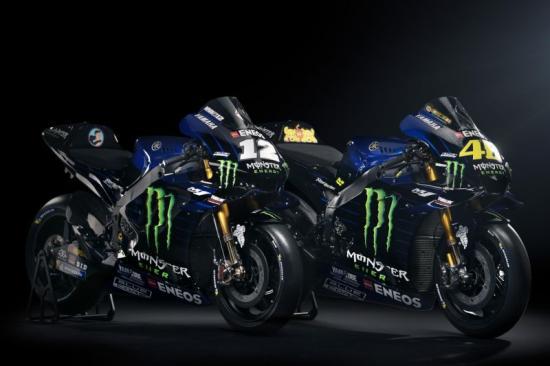 Yamaha M1 2019 Monster Energy Quai vat moi cua doi Yamaha chinh thuc trinh lang - 4