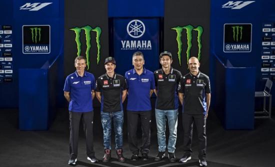 Yamaha M1 2019 Monster Energy Quai vat moi cua doi Yamaha chinh thuc trinh lang - 7