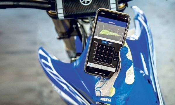Yamaha ra mat ung dung Power Tuner dieu chinh dong co xe may tren Smartphone