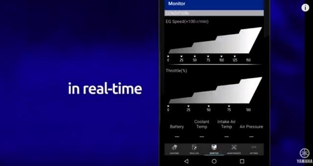 Yamaha ra mat ung dung Power Tuner dieu chinh dong co xe may tren Smartphone - 7