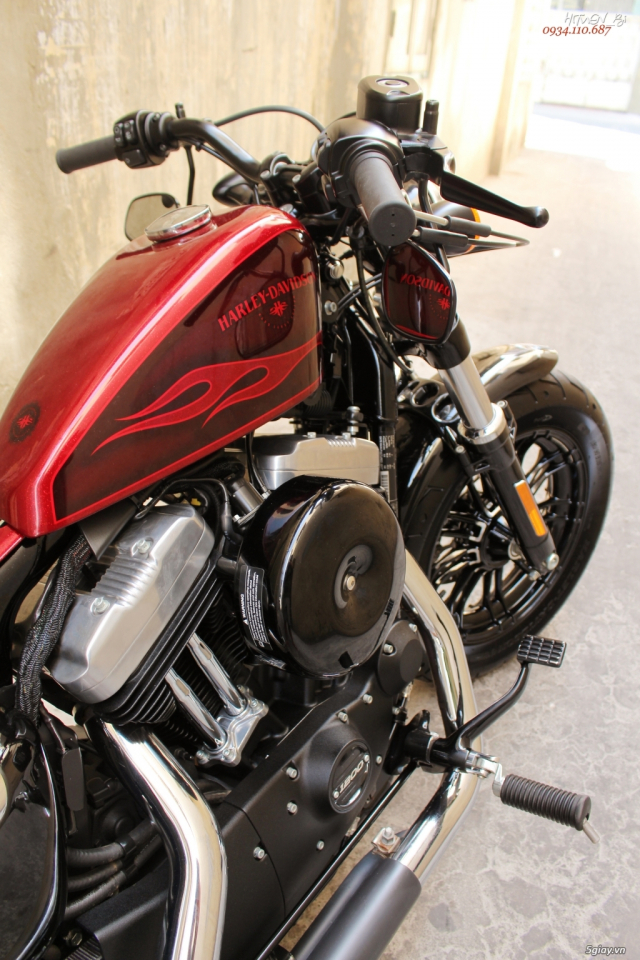 ___ Can Ban ___HARLEY DAVIDSON Forty Eight 1200cc Hard Candy ABS 2017 Keyless___ - 6