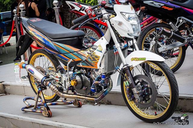 Ban do Sonic 125 khung nhu sieu xe cua tay choi Thai Lan - 10