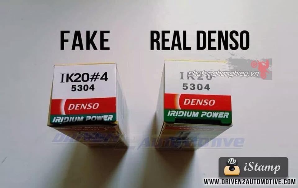 Cach phan biet Bugi Denso Iridium Fake Real - 3