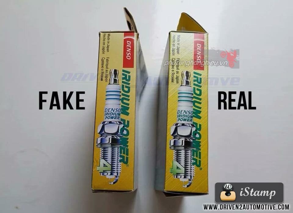 Cach phan biet Bugi Denso Iridium Fake Real - 7