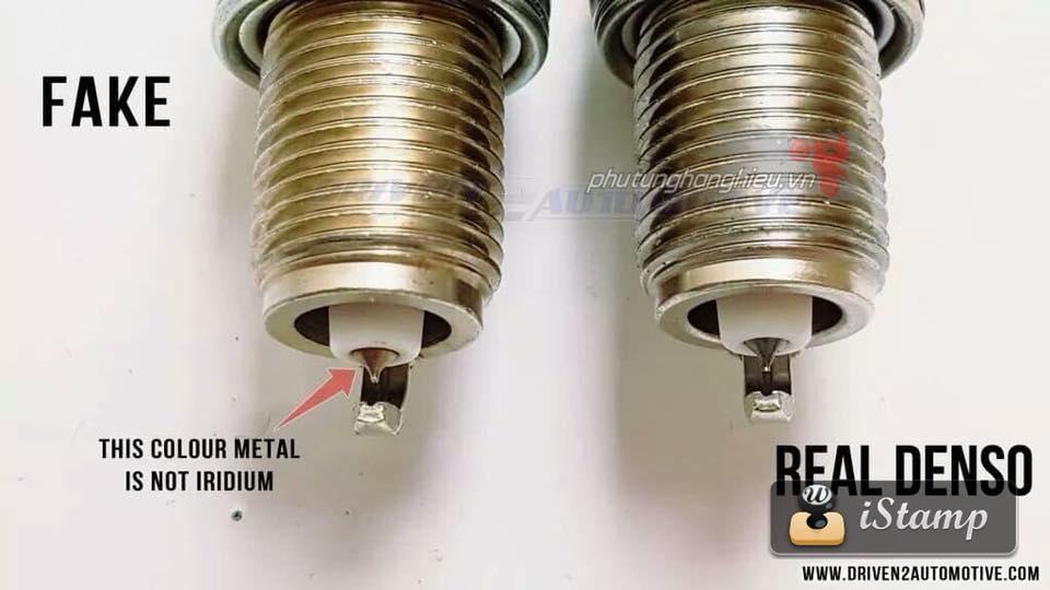 Cach phan biet Bugi Denso Iridium Fake Real - 9