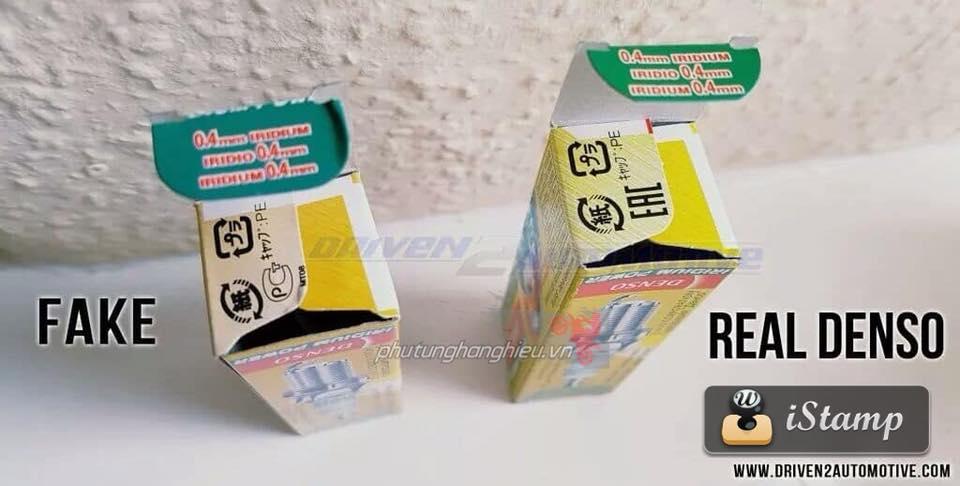Cach phan biet Bugi Denso Iridium Fake Real - 5