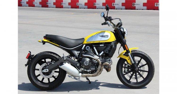 Can ban Ducati Scrambler Icon 62 Yellow