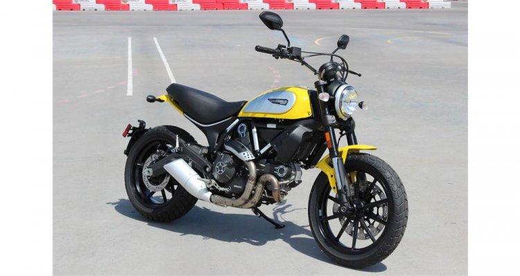 Can ban Ducati Scrambler Icon 62 Yellow - 2