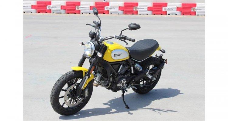 Can ban Ducati Scrambler Icon 62 Yellow - 4