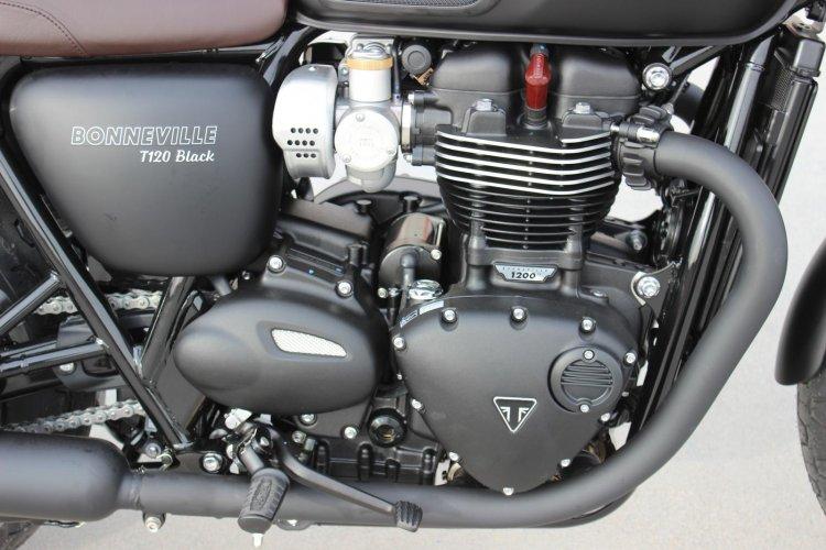 Can ban Triumph BONNEVILLE T120 BLACK 2018 nguyen ban - 6