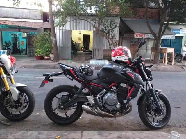 Can ban xe Kawasaki Z650 doi 2018 mau do den - 2