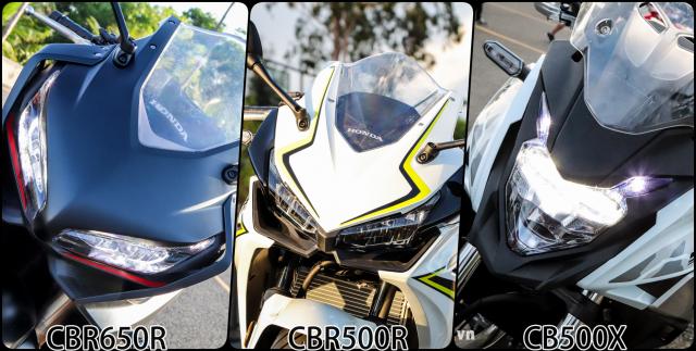Can canh CBR650R CBR500R va CB500X 2019 tai ngay hoi Honda Biker Day