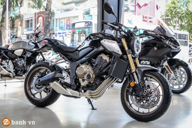 Can canh Honda CB650R dau tien tai Viet Nam co gia ban gan 246 trieu Dong