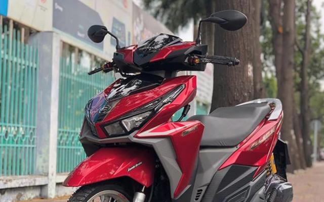 Click 125i do manh bao so trai 58 de giao tra sua cua biker Sai Gon - 4