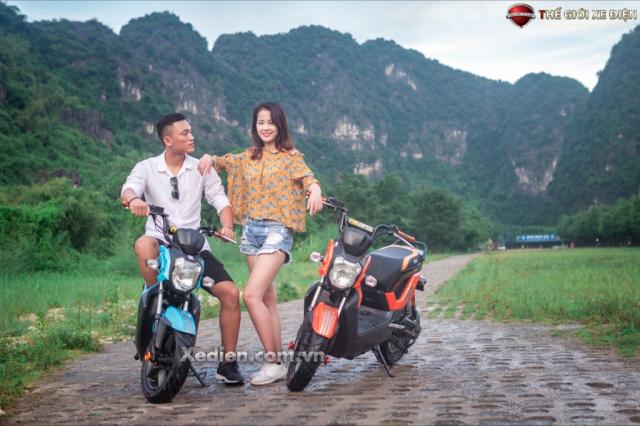 Danh gia ve nhung uu diem cua xe dien Zoomer Dibao - 2